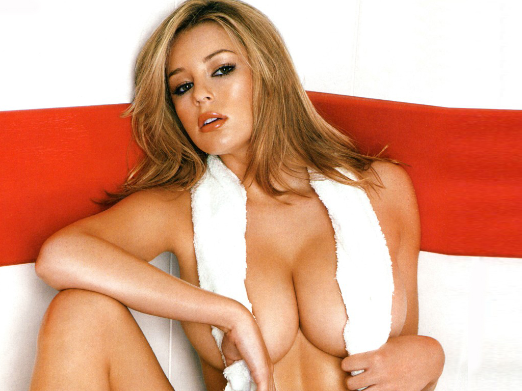 最性感既glamour model (keeley hazell)