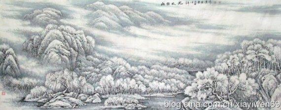 沁园春《雪》